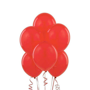 "PARTY BALLOONS 12"" 10 PACK RED"