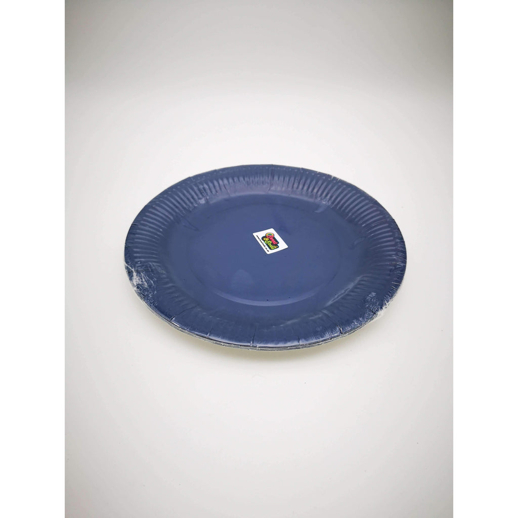 PARTY PLATES 9'' NAVY 10 PC