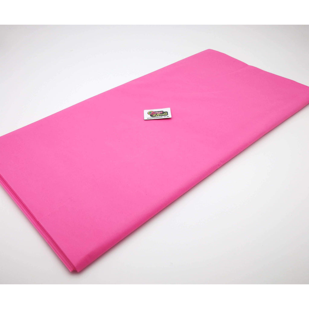 PARTY TABLE COVER DARK PINK
