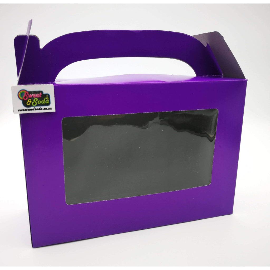 PARTY WINDOW BOX 10 PACK PURPLE