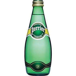 PERRIER SPARKLING WATER 330ml GLASS BOTTLE