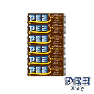 PEZ CANDY USA 6 PACK CHOCOLATE FLAVOUR