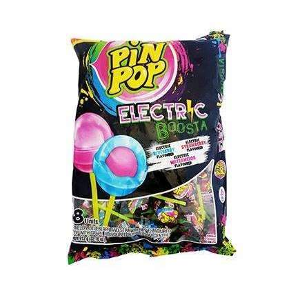 PIN POP ELECTRIC BOOSTA 48 LOLLIPOPS