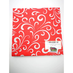 PRINTED SERVIETTES (PACK OF 20) - 048