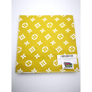 PRINTED SERVIETTES (PACK OF 20) - 055