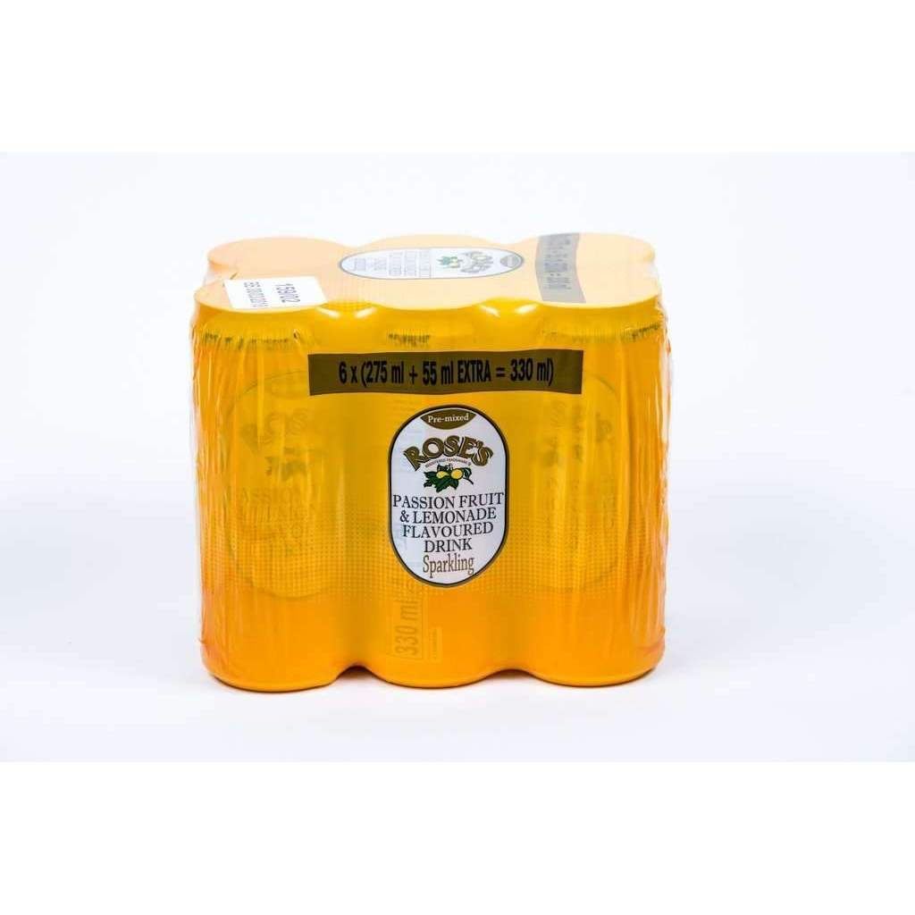 ROSES PASSION FRUIT LEMONADE 6x275ml