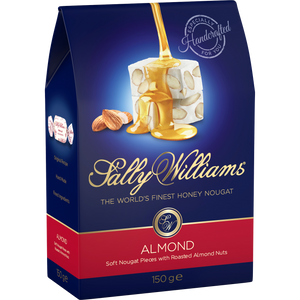 SALLY WILLIAMS 150g ALMOND NOUGAT