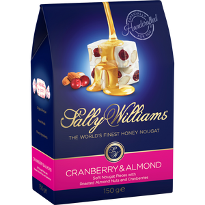 SALLY WILLIAMS 150g CRANBERRY ALMOND