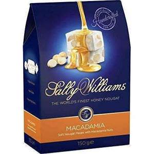 SALLY WILLIAMS 150g MACADAMIA NOUGAT
