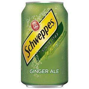 SCHWEPPES GINGER ALE CAN 355ml