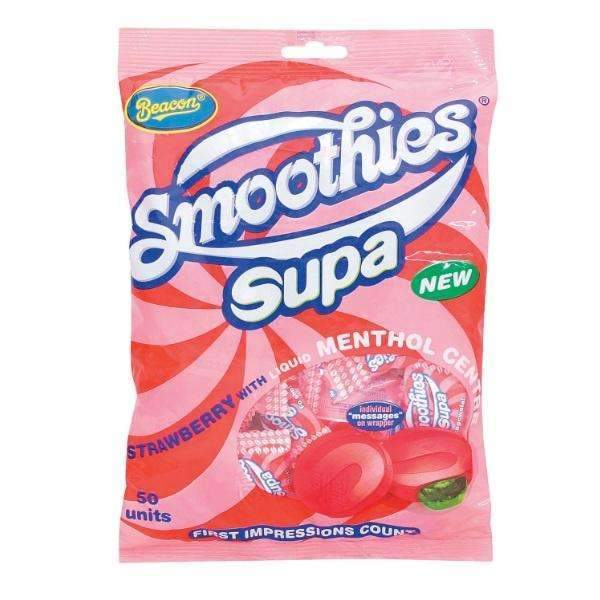 SMOOTHIES SUPA STRAWBERRY 50pcs - 305g