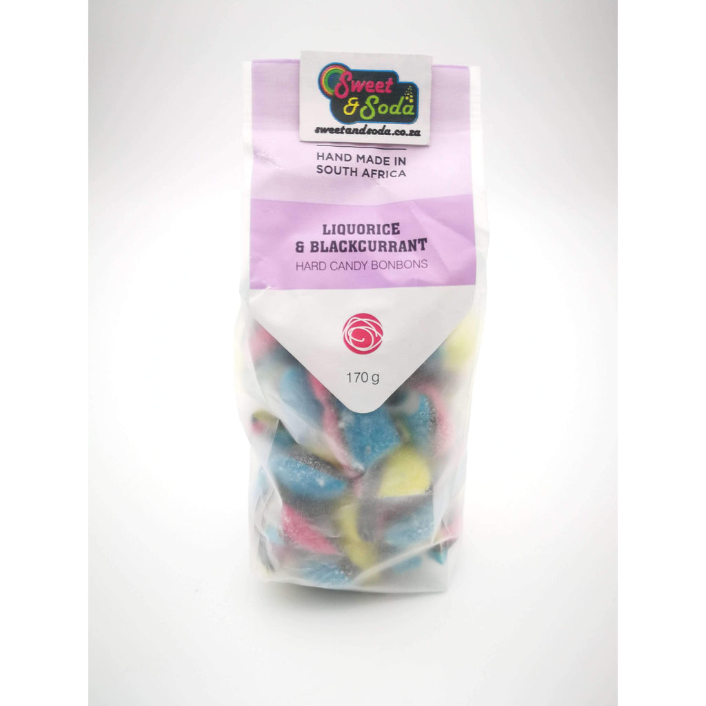 SS BON BON CANDY LICORICE BLACKCURR 170g