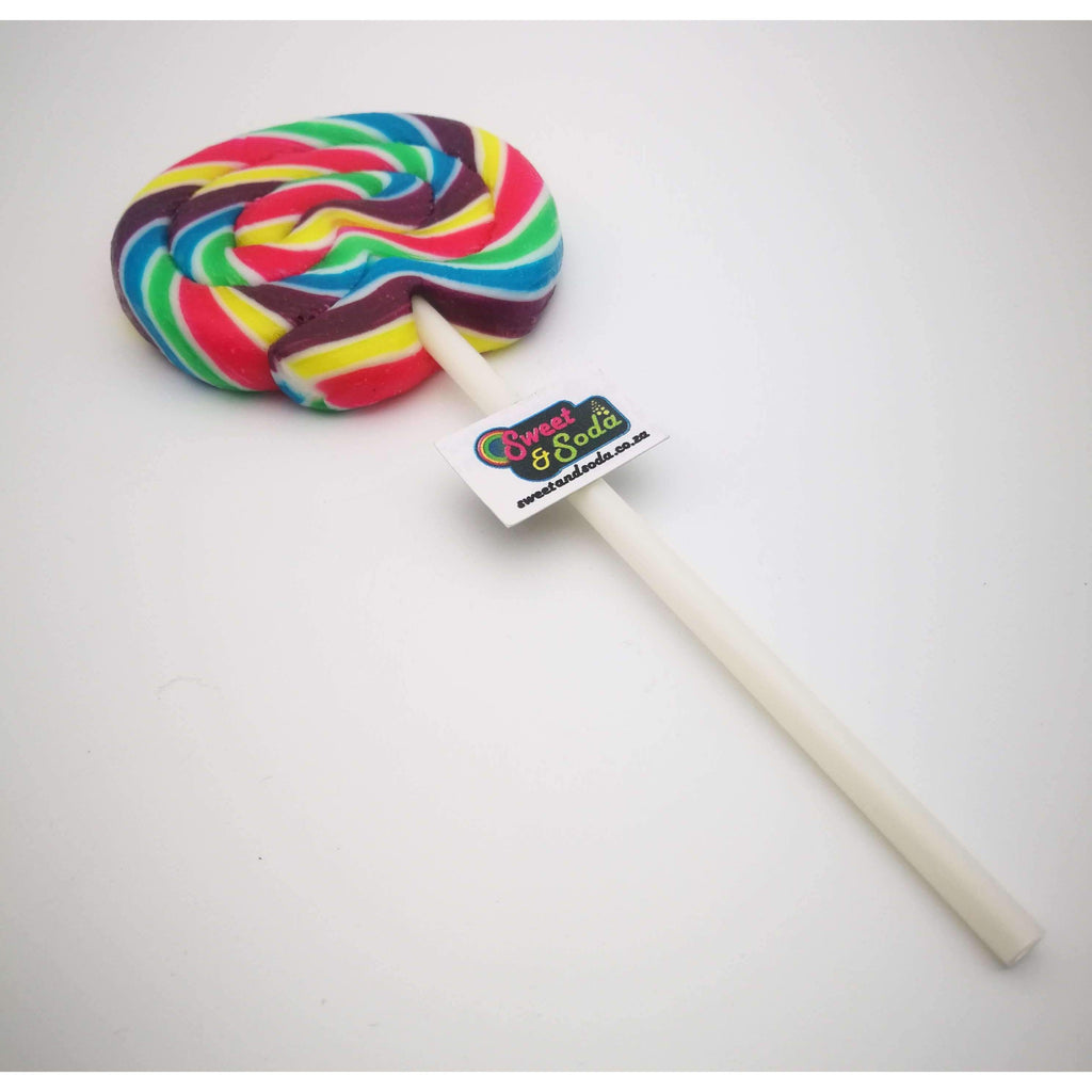 SS LARGE ROUND RAINBOW LOLLY