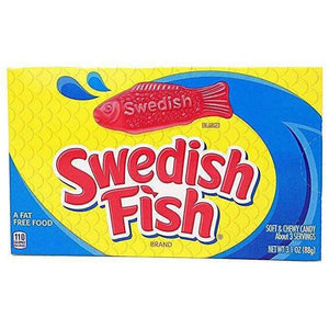 SWEDISH FISH GUMMY CANDY 88g BOX