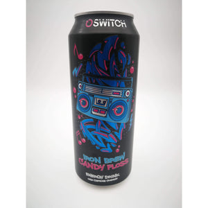SWITCH ENERGY DRINK IRON BREW CANDY FLOSS 500ml