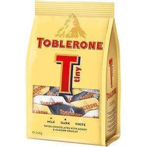 TOBLERONE TINY VARIETY PACK 248g
