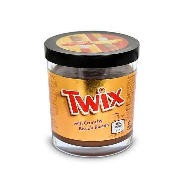TWIX CRUNCHY CHOCOLATE SPREAD 200g
