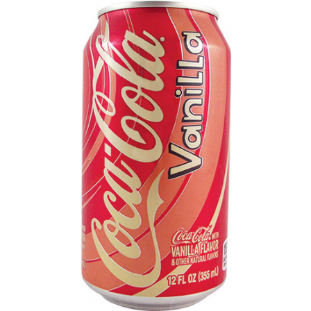 VANILLA COKE 355ml