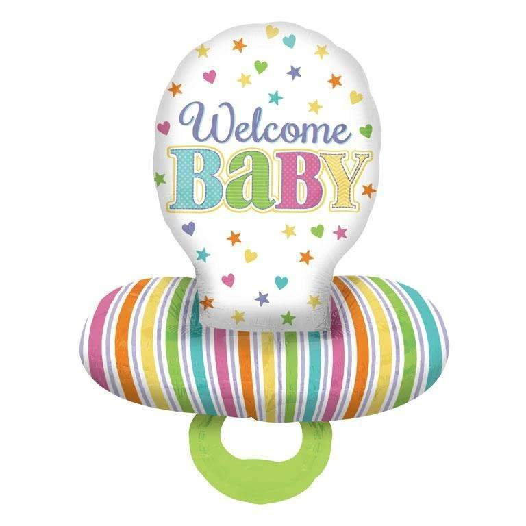 WELCOME BABY FOIL BALLOON 55x73cm