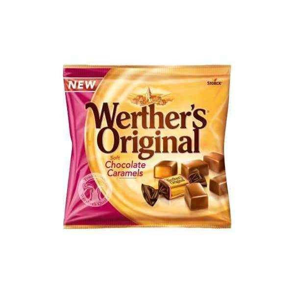 WERTHERS CHOC CARAMEL 100g