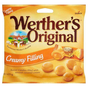 WERTHERS CREAMY FILLING 125g