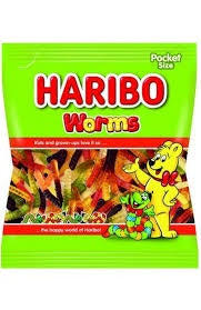 Haribo Worms 80g