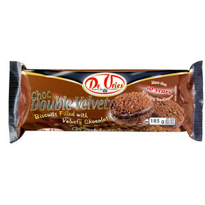 De Vries Chocolate Double Velvet Biscuit 185g