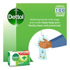 Dettol Hygiene Bar Soap 175g