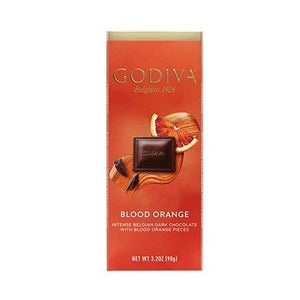 GODIVA 90g SLAB - BLOOD ORANGE