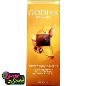 Godiva 90g Slab Roasted Almond & Honey