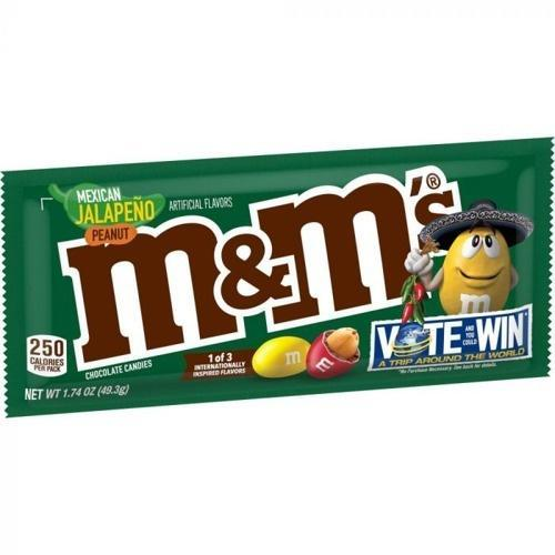 M&M's Mexican Jalepeno Peanut 49g Bag