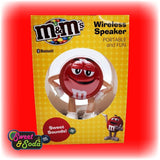 M&M's SWEET SOUNDS BLUETOOTH SPEAKER RED
