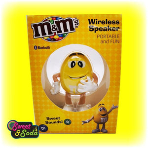 M&M's SWEET SOUNDS BLUETOOTH SPEAKER YELLOW