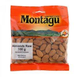 Montagu Almonds Raw 100g