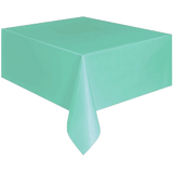 PARTY TABLE COVER TEAL