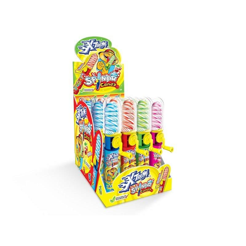 Pop Spinner With Candy