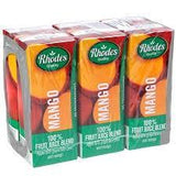 Rhodes Mango Fruit Juice 6PK