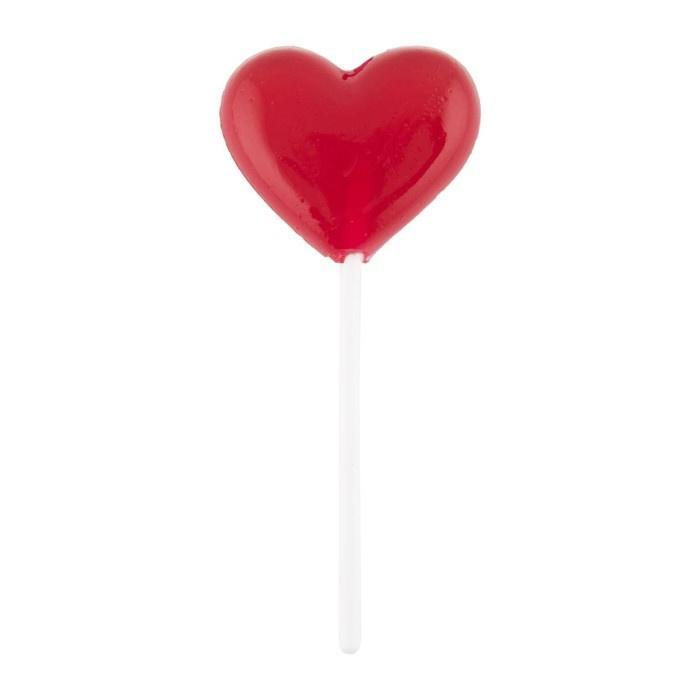 SS SMALL HEART LOLLY