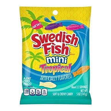 Swedish Fish Tropical 141g Bag
