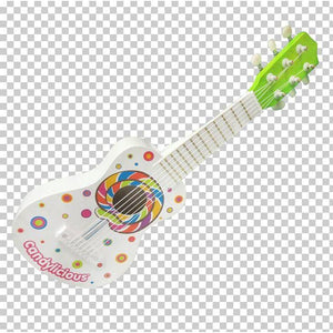 Toy Bass Guitar With Candy