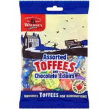 Walkers Assorted Toffees & Eclairs 150g
