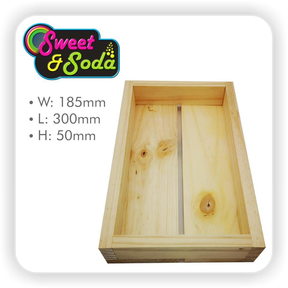 Wooden Gift Crate 185mm x 300mm x 50mm