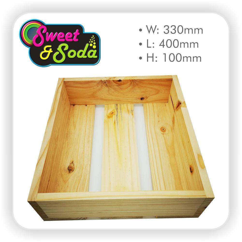Wooden Gift Crate 330mm x 400mm x 100mm