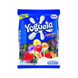 Yogueta  Assorted lollipops 48's