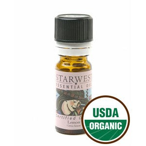 Organic Lemon Oil 1/3 fl oz