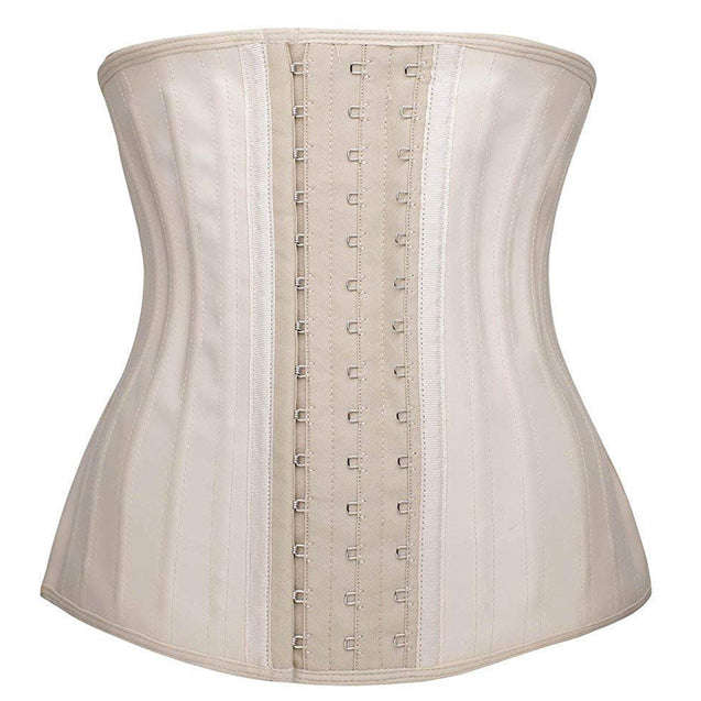 100% Latex Waist Trainer with 25 Steel Boned