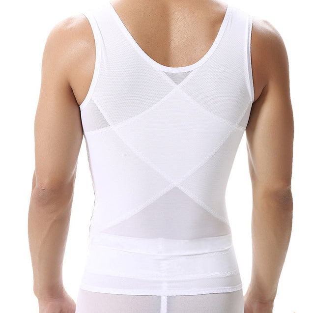 Men's Slimming Body Shaper Compression Shirt