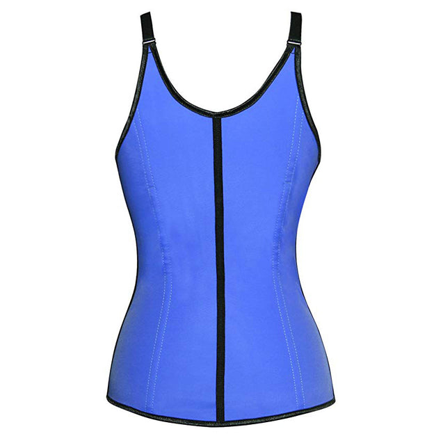 Latex Waist Trainer Vest for Women with Adjustable Straps