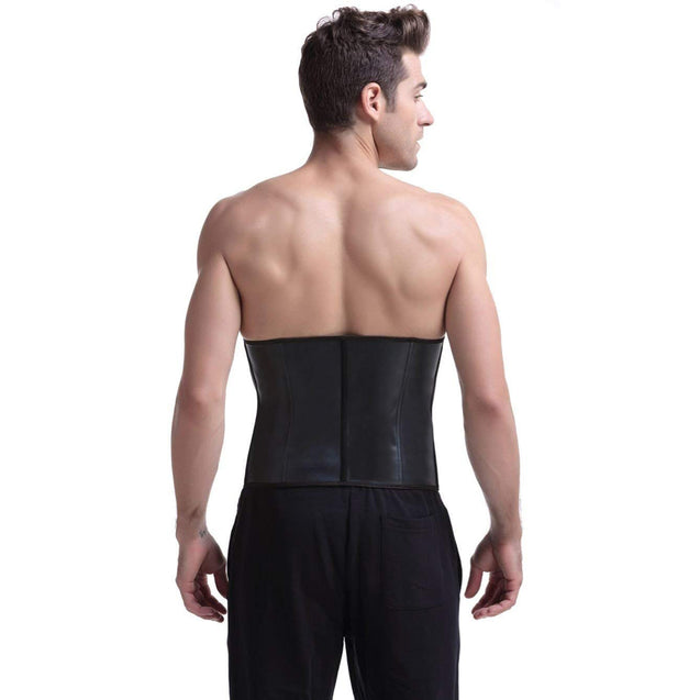 Mens 100% Latex Waist Trainer