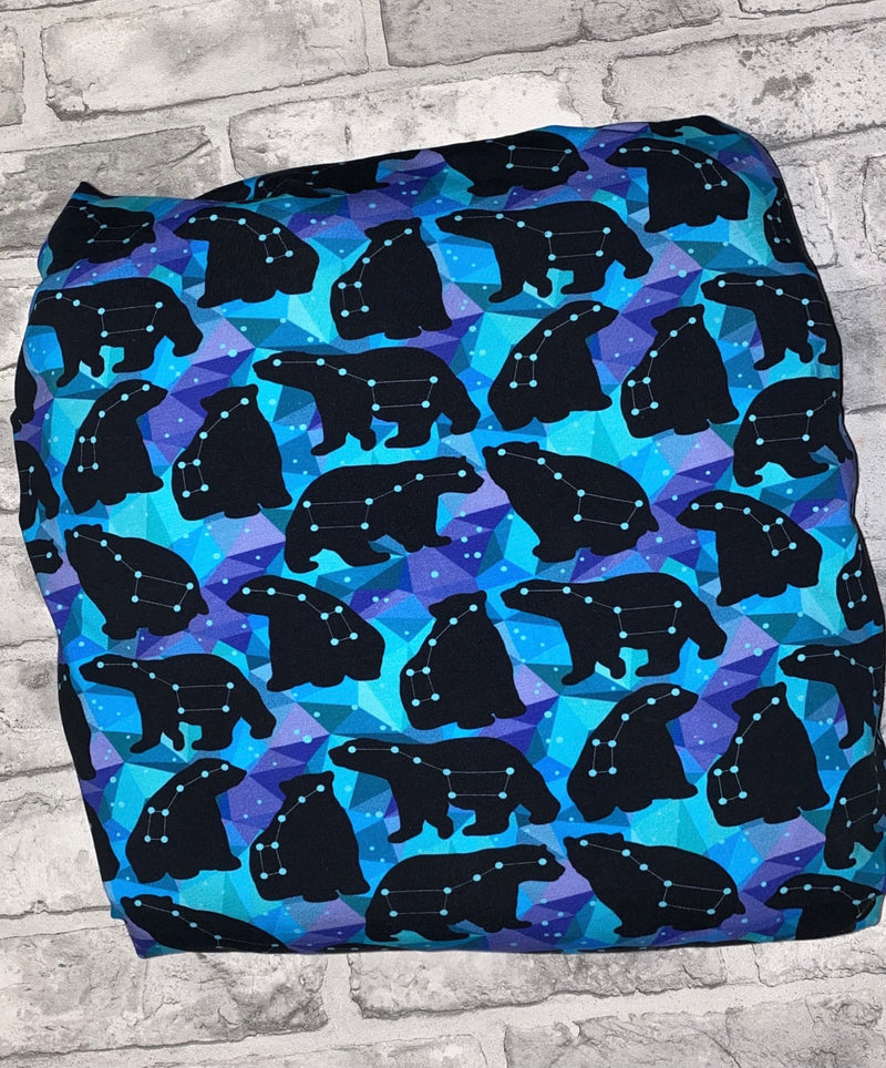 Galaxy Bears Long Rompers